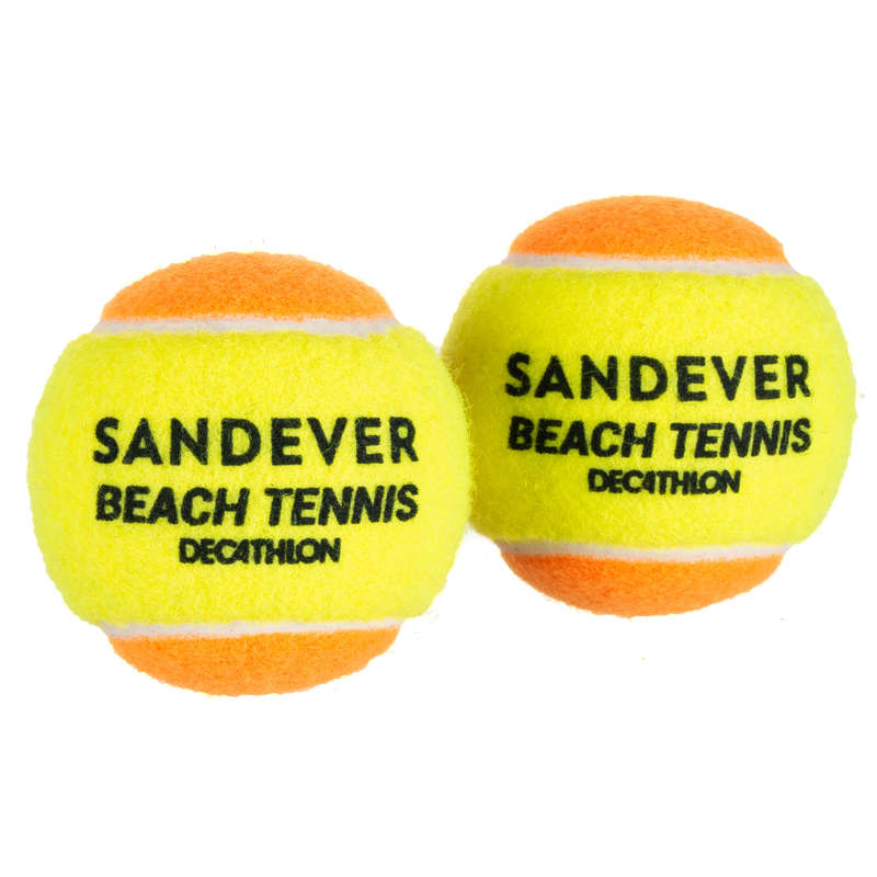 STRANDTENISZ Squash, padel - Strandtenisz labda BTB 900, 2  SANDEVER - Squash, padel
