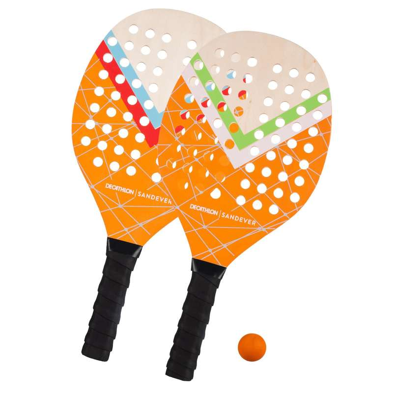 BEACH TENNIS Other Racket Sports - Experience Beach Tennis Set SANDEVER - Other Racket Sports