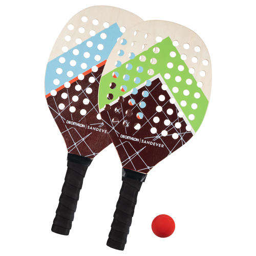 Set raquettes Beach Tennis Experience Red