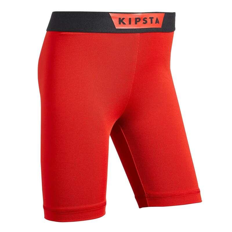 UNDERKLÄDER LAGSPORT JUNIOR Barnkläder - Keepdry 100 junior röd KIPSTA - Underkläder