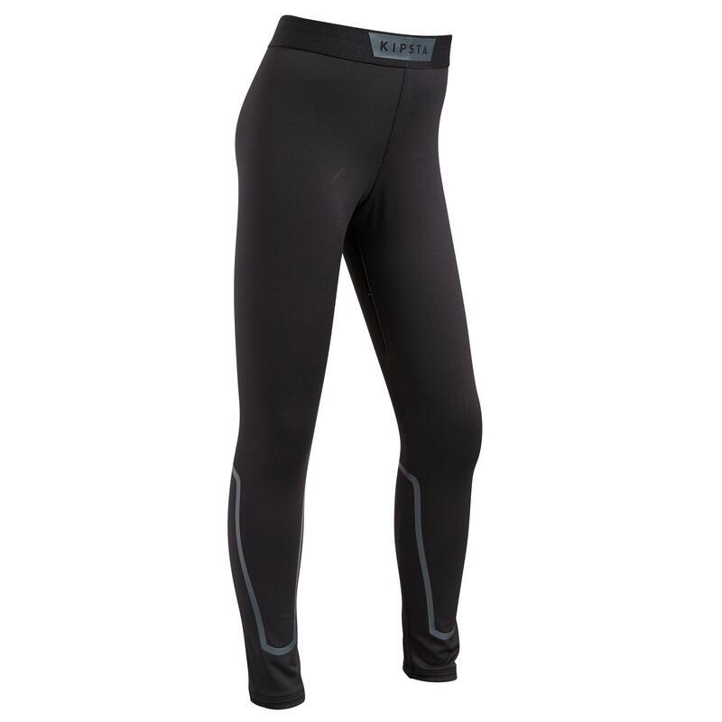Pantaloni termici bambino KEEPDRY 100 neri