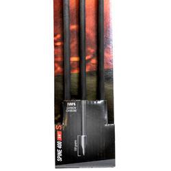 """Flèche carbone chasse arc à poulie 28"""" Spine 400 x3"""
