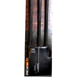 """Flèche chasse arc à poulie 30"""" Spine 340 x3"""