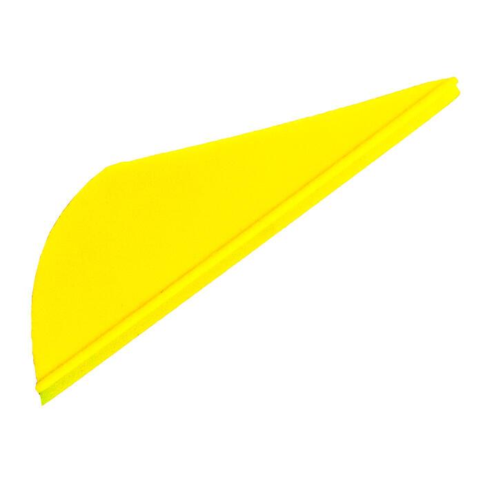 Federn 6er Pack gelb