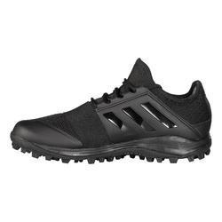 Hockeyschoenen voor volwassenen laag/gemiddeld intensief Divox 1.9S zwart