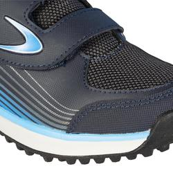 Chaussures de hockey sur gazon enfant intensité faible Fix And Go bleu gris