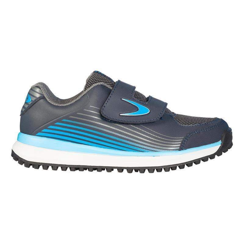 Kids' Low-Intensity Field Hockey Shoes Fix And Go - Blue/Grey