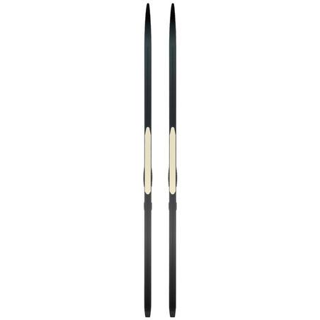 Classic Cross-country Skin Ski 550 - HARD Camber XCELERATOR bindings