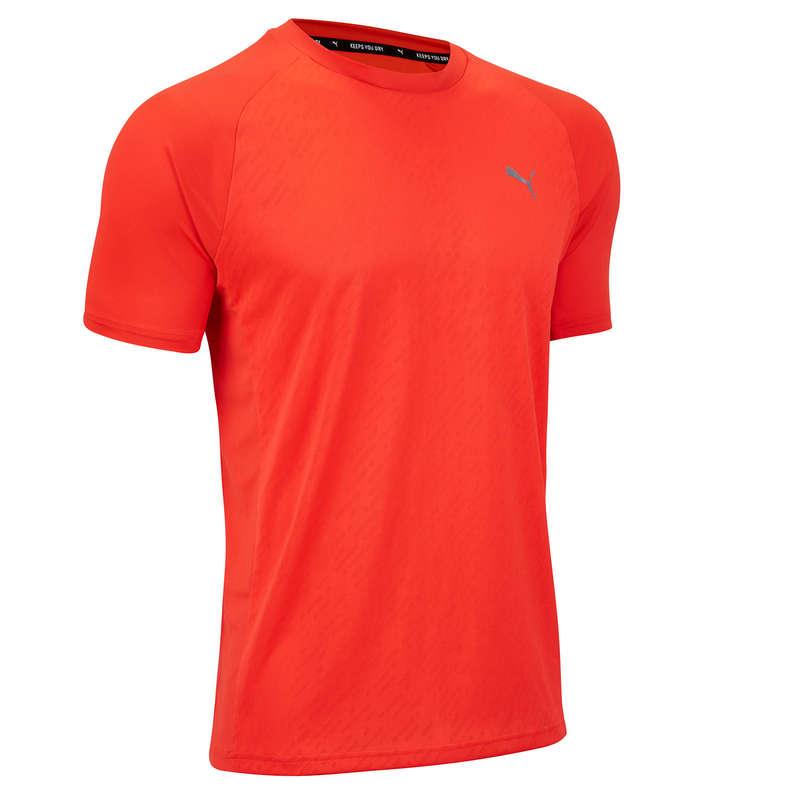 Fitnesz Cardio Férfi ruházat és cipő haladó Fitnesz gépek, kardió ruházat - Férfi póló, Puma PUMA - Fitness - DOMYOS