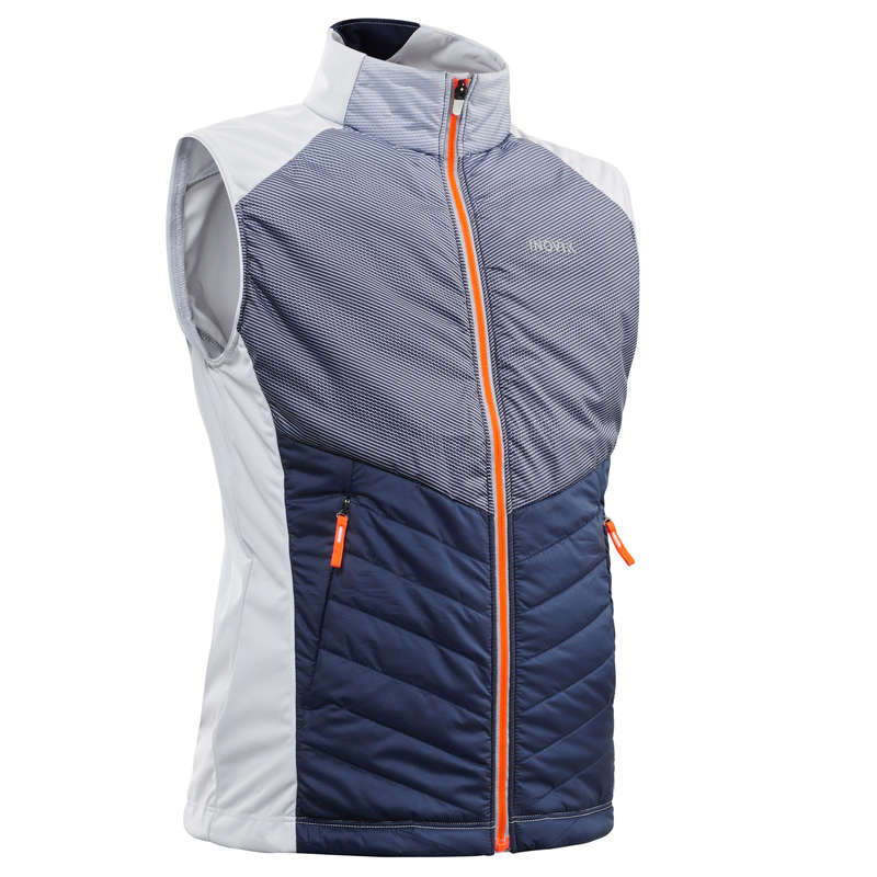 JUNIOR CROSS COUNTRY SKI CLOTHING Hiking - Children's gilet XC S 500 INOVIK - Hiking Jackets