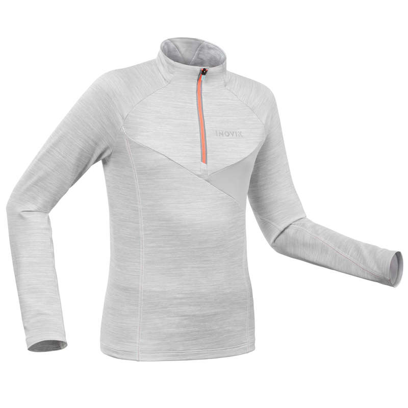 NARTY BIEGOWE DLA DZIECI Narciarstwo biegowe - Koszulka ciepła dla dzieci INOVIK - Odzież do narciarstwa biegowego