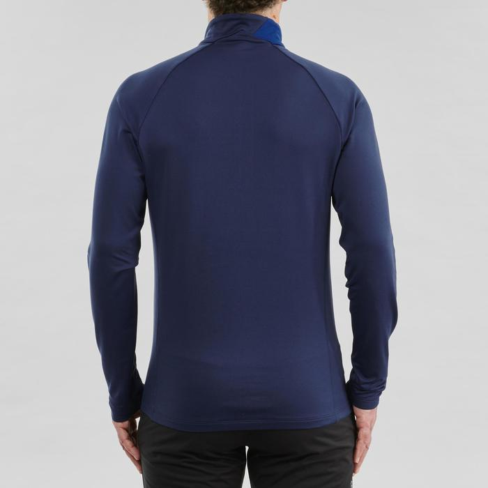 Camiseta cálida de manga larga XC S TS 100 hombre azul
