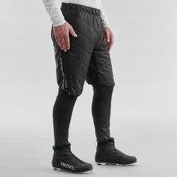 Thermoshort voor langlaufen heren XC S 500 zwart