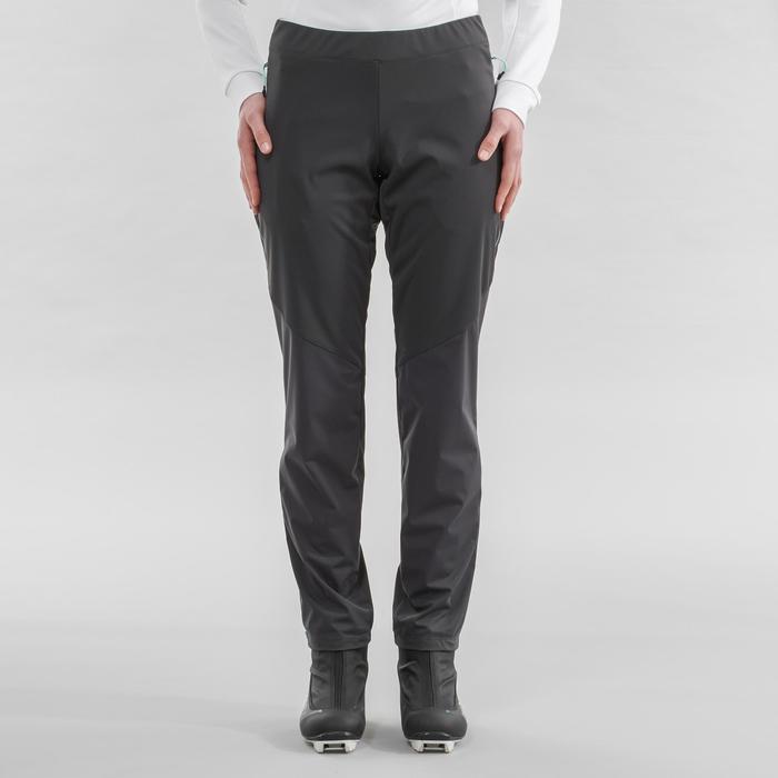 Pantalon de ski de fond gris XC S PANT 500 FEMME
