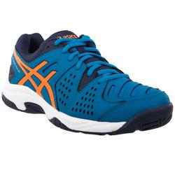 Tennisschoenen kinderen Gel Padel Pro GS 3 allcourt blauw/oranje