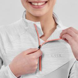 Tee-shirt chaud gris manches longues XC S TS 100 enfant