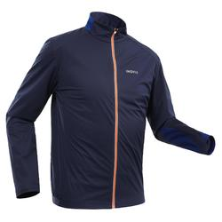 Veste légère de ski de fond bleu XC S SOFT 500 HOMME