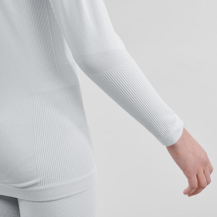 Thermisch ondershirt voor langlaufen kinderen XC S UW 500 grijs