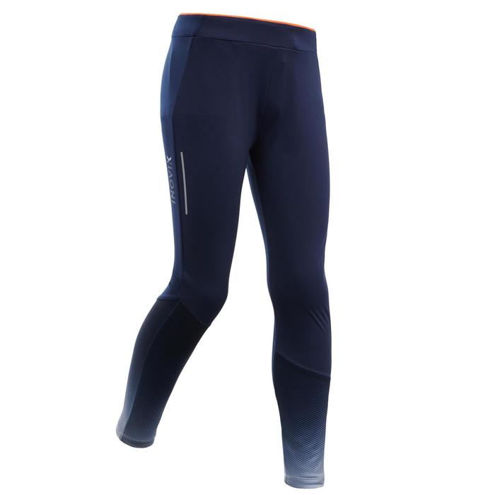 Langlauf-Tights XC S 500 Kinder blau