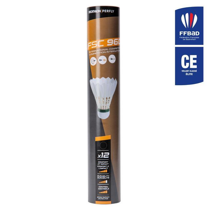 Volants De Badminton Plumes FSC 960 Vitesse 78 x 12