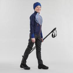 Pantalón Esquí de fondo Inovik 500 niños negro