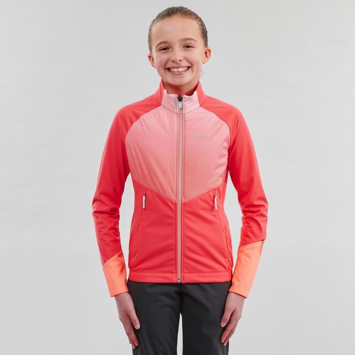 Langlaufjacke XC S 550 Kinder rosa
