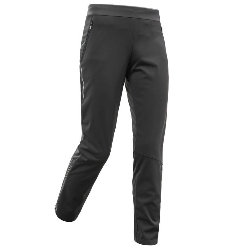 Pantalon ski de fond noir XC S PANT 500 ENFANT