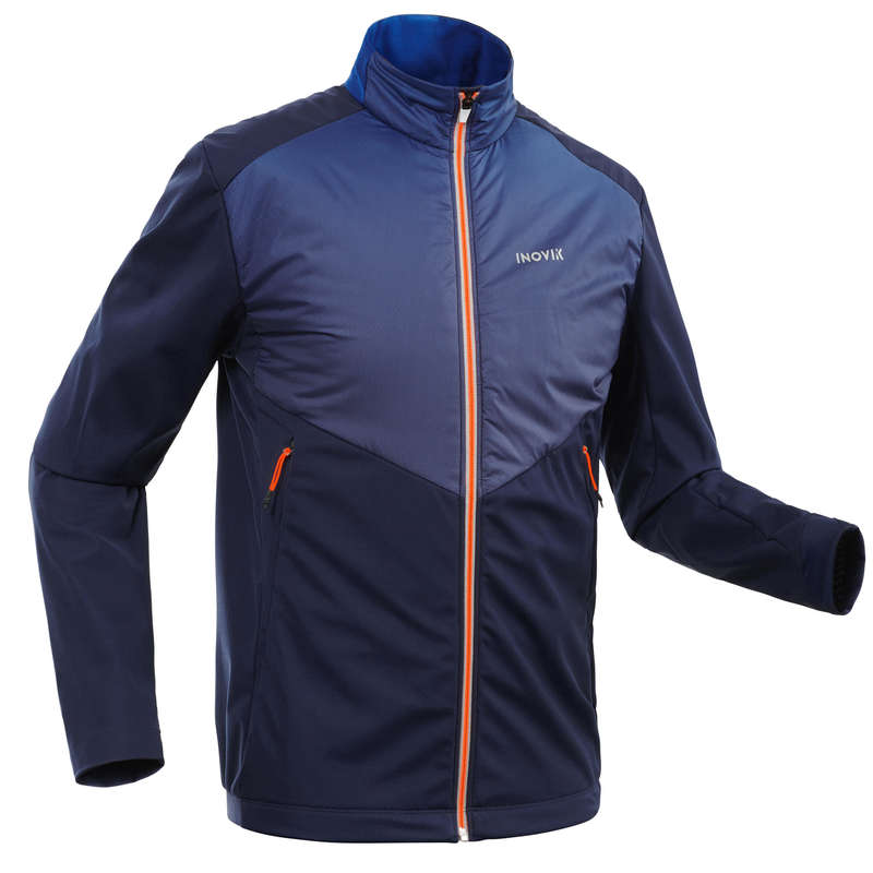 ADULT CROSS COUNTRY CLOTHING Cross-Country Skiing - Men's Jacket XC S 550 - Blue INOVIK - Cross-Country Skiing