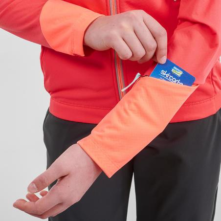 Girls Cross-Country Ski Jacket XC S Jacket 550 - Pink
