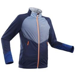 Langlaufjas voor kinderen XC S Jacket 550 blauw