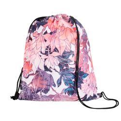 Bolsa para calzado fitness plegable flores