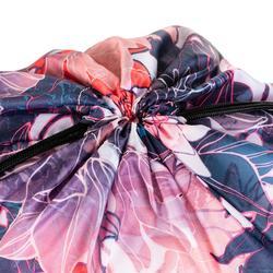 Opvouwbare tas voor fitnessschoenen met bloemenprint