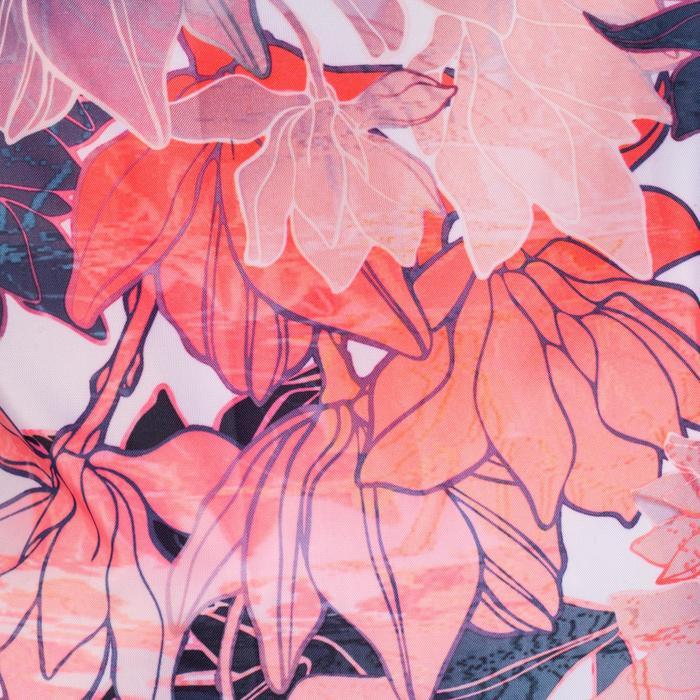 Fold-Down Fitness Shoe Bag - Floral