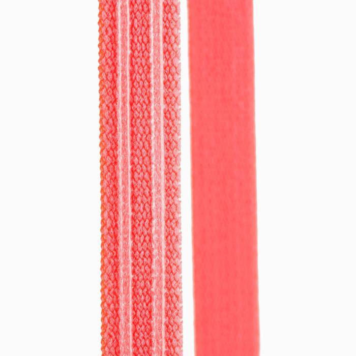 Haarband Fitness 3er-Set Fitness Cardio rosa/schwarz