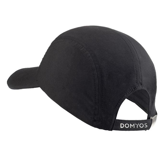 Gorra plana Cardio Fitness Domyos adultos negro