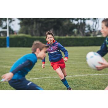 Sweat à capuche (hoodie) supporter France junior bleu