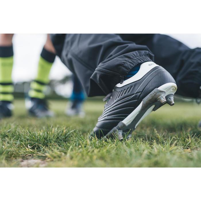 Rugbyschuhe Agility 500 SG 6 Stollen Kinder grau