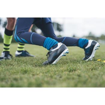 Botas de Rugby Offload Skill R500 FG niños azul