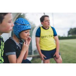 Rugby-Kopfschutz R100 Kinder blau Turtle