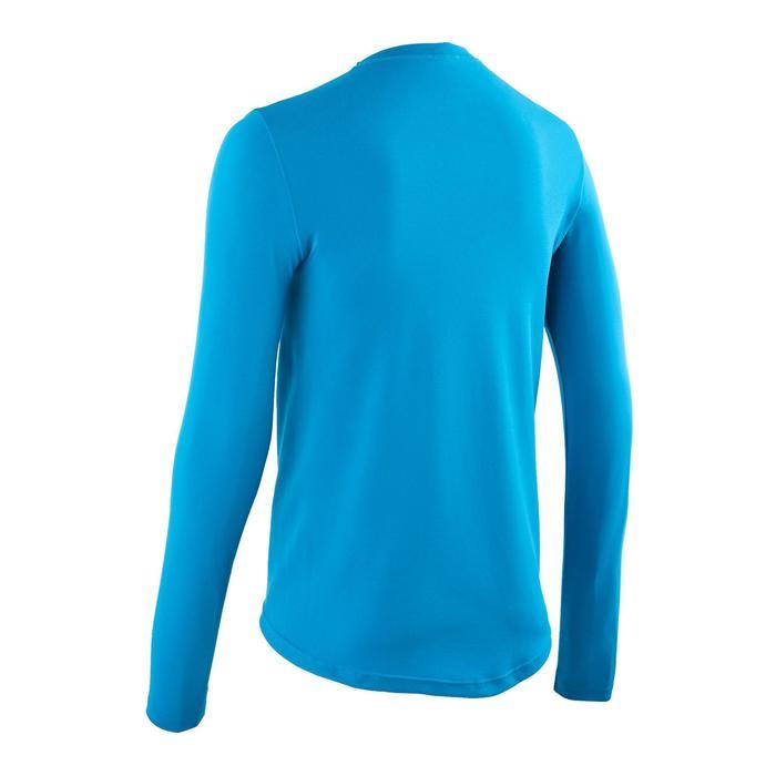 Fietsondershirt met lange mouwen voor heren Essential blauw