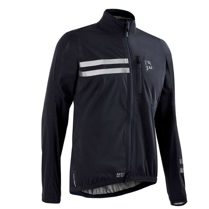 MEN WET WEATHER ROAD CYCLING APPAREL Cycling - Men's Cycling Rainproof Jacket TRIBAN - Cycling