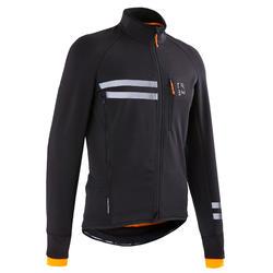 男款自行車冬季外套RC500 - 黑色
