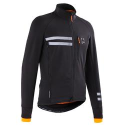 Winterfietsjack RC500 heren zwart