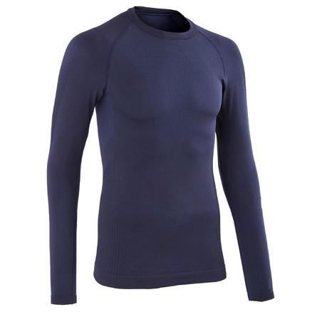 Термофутболка Training з довгим рукавом для велоспорту - Темно-синя