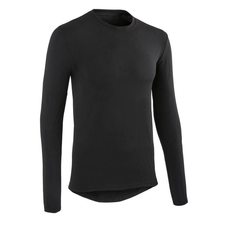 Essential Cycling Long-Sleeved Base Layer - Black