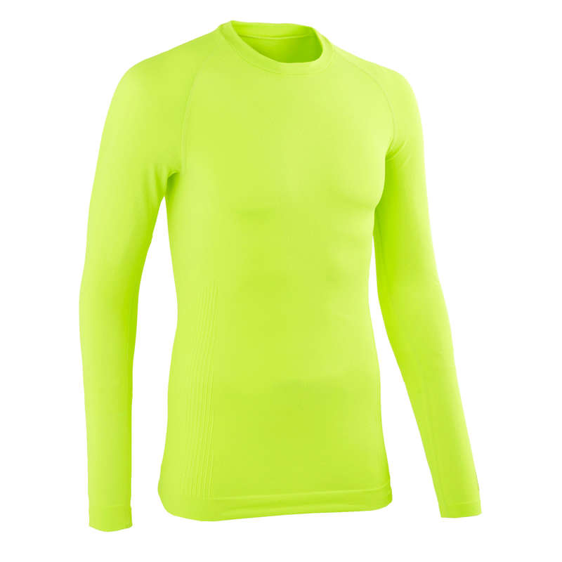 MEN COLD WEATHER ROAD BASELAYER Cycling - Training Base Layer - Yellow VAN RYSEL - Cycling