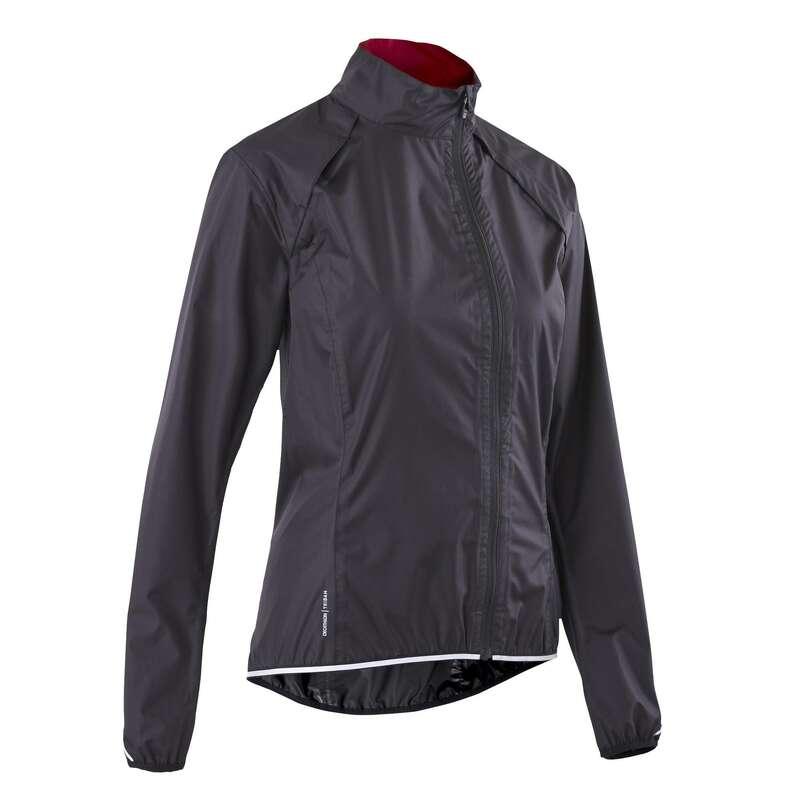Дождевики женские CYCLING Одежда - ДОЖДЕВИК ЖЕНСКИЙ RC 500  TRIBAN - Куртки