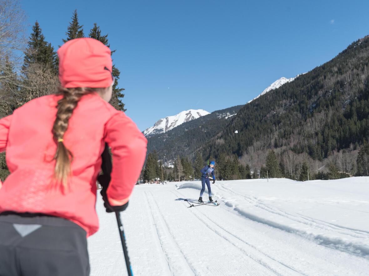 activités ski de fond enfants