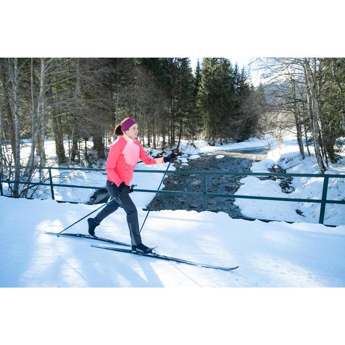 Oorwarmer voor langlaufen volwassenen 500 paars