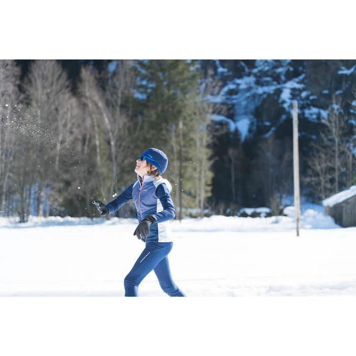 Langlaufweste XC S 500 Kinder blau